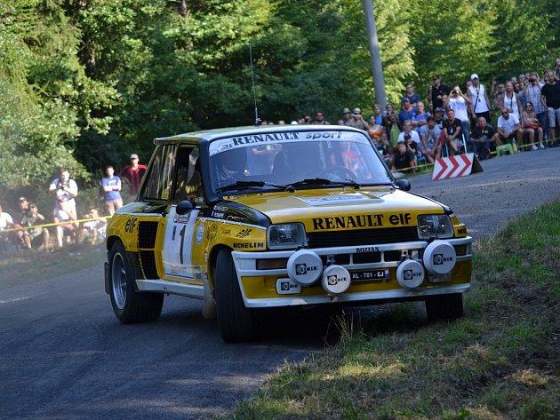 Star Rally Historic v rámci Barum Rally 2015. RZ5 Kudlovice