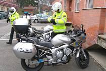 Zlínští policisté se pyšní novými stroji zn. Yamaha.