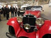 Muzem Samohýl Motor Veteran navštívil i prezident republiky
