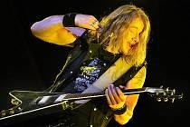 Na letním hudebním festivalu Masters of Rock ve Vizovicích vystoupila v sobotu 17. července v noci německá rocková legenda Gamma Ray.