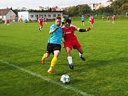 Fotbalisté Štípy zvládli v okresním přeboru Zlínska další utkání. Proti béčku Mladcové se ale pořádně nadřeli.
