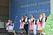 Moravské chodníčky se každoročně konají v Napajedlích. Jde o tradiční setkání folklórních souborů ze Slovácka, Valašska a Hané. Letos se sešli už po jednadvacáté.