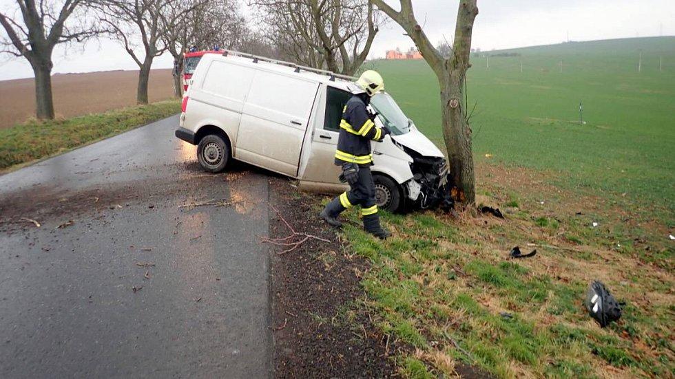 Nehoda u Dřínova, 7.12.2019