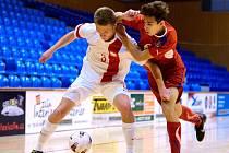 III. hrací den UEFA Development Cupu: Česká republika vs. Polsko 3:7, 16. června 2016.