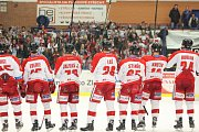 Hokejisté Olomouce slaví ve Zlíně postup do čtvrtfinále