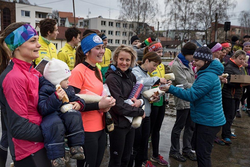 Štědrovečerní běh v Luhačovicích
