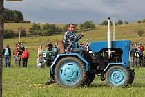 Sraz traktorů ve Vlachovicích