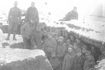 Vojáci ze Zlínska bojovali v řadách c. a k. 3. pěšího pluku. Zdroj: publikace Hřivínův Újezd, pohledy do historie
