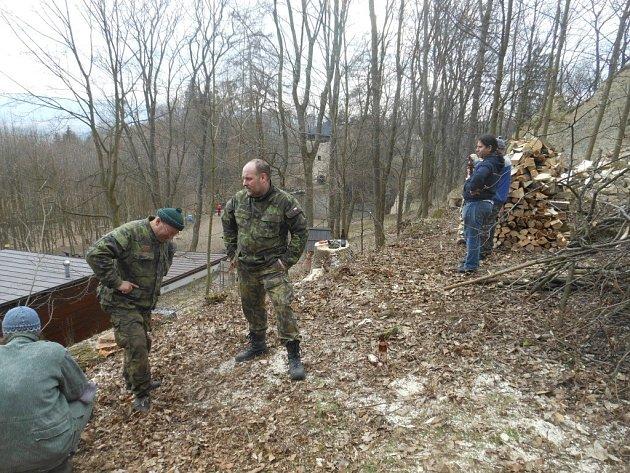 Velký úklid hradu Lukov