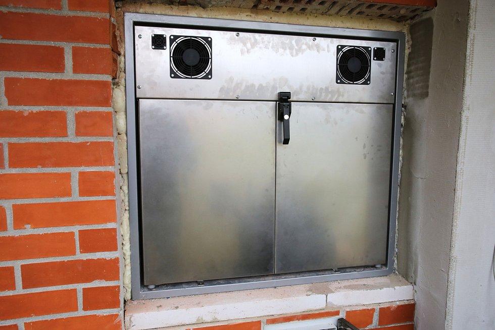 Babybox v Krajské nemocnici  T. Bati ve Zlíně.