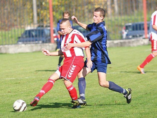 fotbal, divize E, FC Elseremo Brumov - TVD Slavičín. Ilustrační foto