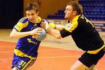 Zlín házená muži HC Zlín-KP Handball Brno