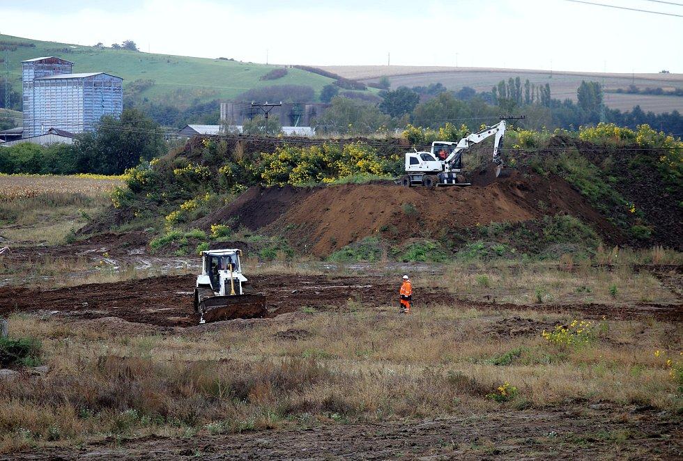 Zahájení stavby jihovýchodního obchvatu Otrokovic na dálnici E 55