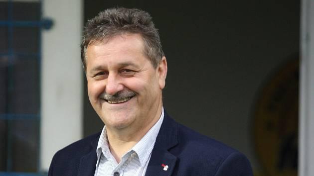 Předseda Zlínského krajského fotbalového svazu Pavel Brímus