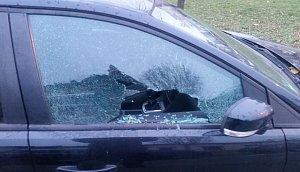 Recidivista kradl i střílel do výloh a vozidel