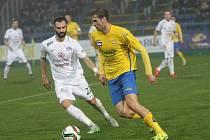 FC FASTAV Zlín - 1. FC Slovácko. Tomáš Poznar v akci