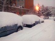 Dopravní situace ve Zlíně 1. 2. 2016