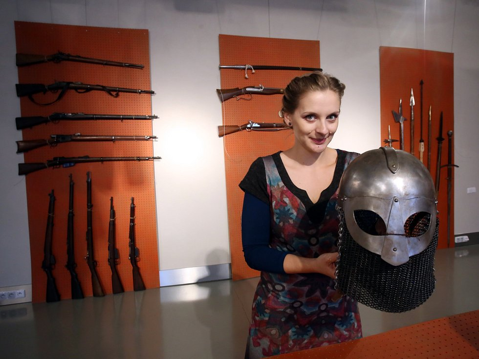 Výstava Z deníku válečníka v muzeu v Napajedlích.