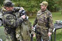 Připraveni k obraně státu. Soutěž pro 200 žáků zpestřily ukázky záchranářů