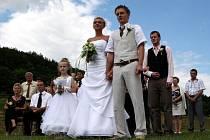 V Březnici se po třiceti letech konala civilní svatba