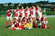 Fotbal McDonlads Cup. Krajské kolo Vršava Zlín. ZŠ Slovan Kroměříž