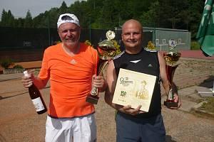 Loňští finalisté zleva Dušan Machala a Anton Oškrobaný