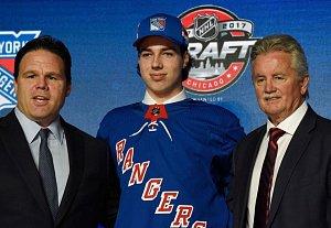 Filip Chytil se stal členem organizace New York Rangers