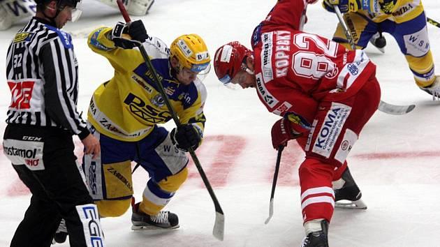 Hokej PSG Zlín – HC Oceláři Třinec, 2. předkolo
