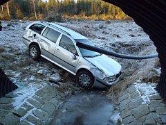 Nehody během silvestrovského odpoledne.