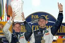 Jubilejní 40. ročník Barum Czech Rally Zlín 2010 vyhrál Belgičan Freddy Loix, stříbrný byl Fin Juho Hänninen a třetí skončil Pavel Valoušek. (na snímku Freddy Loix a Frederic Miclotte)
