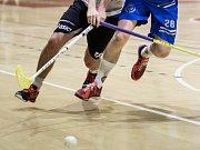 Moravská hokejbalová liga Tišnov - Malenovice