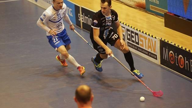 Pavel Jurčík se se čtyřmi góly nejlepším střelcem otrokovických Panterů v sezoně.