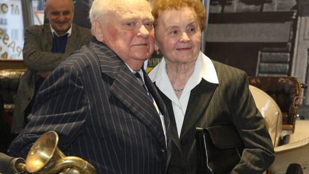 Alois Samohýl se svou ženou Ludmilou.