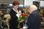 Oslava osmdesátin Aloise Samohýla.