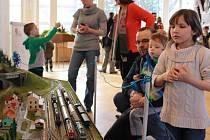 Výstava železničních modelů ve Zlíně