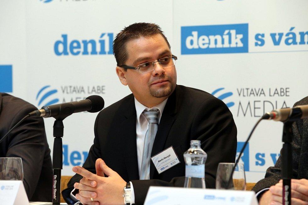 Akce Deník s vámi aneb setkání s hejtmanem v hotelu Baltaci ve Zlíně.