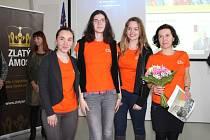 Ve zlínském Baťově institutu se v úterý 24. ledna konalo regionální kolo ankety o nejoblíbenějšího učitele České republiky Zlatý Ámos.