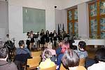 Recitál zobcových fléten v obřadní síni města Zlína