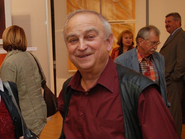 Josef Ruszelák chce po náročné výstavě v Alternativě chvilku odpočívat.