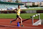 Ondřej Fejfar na MČR v běhu na 10 000 metrů na dráze ve Skalici 2021