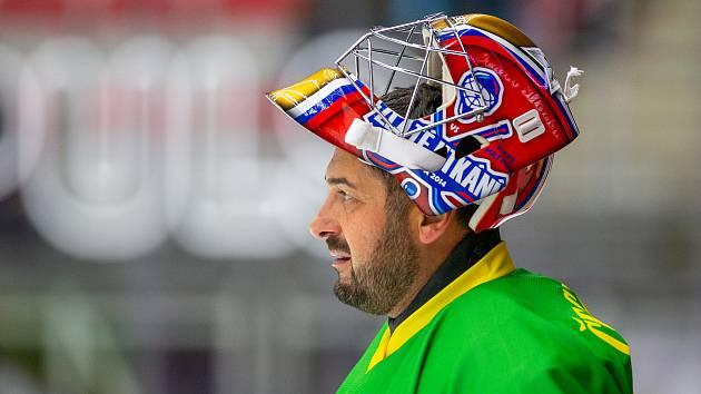 Bývalý reprezentační hokejový brankář, olympijský vítěz z Nagana (2998) a trojnásobný mistr světa Roman Čechmánek.