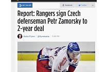 Zámorský míří do NHL