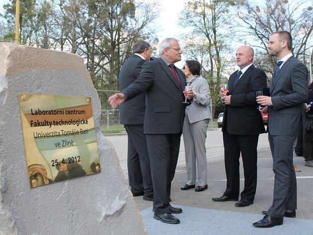 Stavba Laboratorního centra UTB oficiálně začala