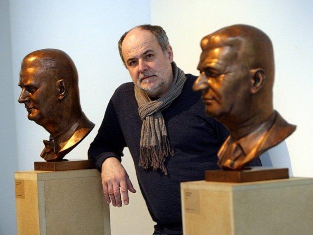 Výstava Radim Hanke V prostoru v Krajské galerii ve Zlíně.