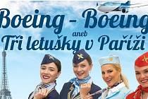 BOEING - BOEING aneb Tři letušky v Paříži.