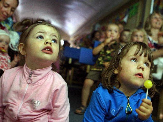 Představení pro děti v kinematovlaku, Zlín