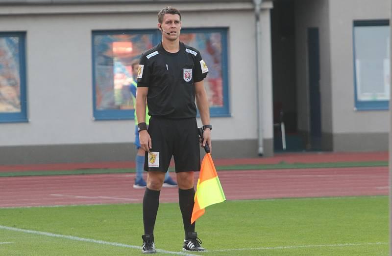 Fotbalový rozhodčí Tomáš Batík ze Zlína.