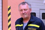 Poklepání základního kamene dostavby a rekonstrukce hasičské stanice ve Zlíně.Slavomír Pokorný