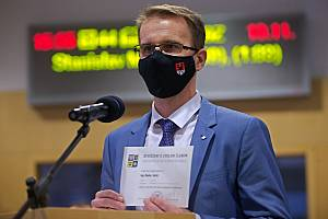 Hejtman Zlínského kraje Radim Holiš