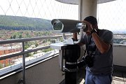 terasa Baťův mrakodrap   nové dalekohledy